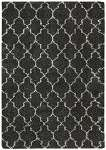 Amore  Shag AMOR2 Charcoal Area Rug by Nourison