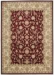 Kathy Ireland Antiquities KI11 ANT01 Garnet Area Rug by Nourison