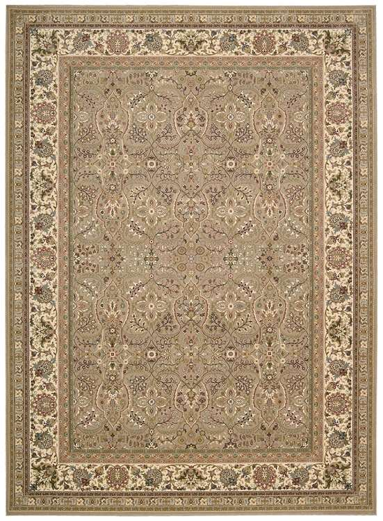 Kathy Ireland Antiquities KI11 ANT03 Cream Area Rug by Nourison