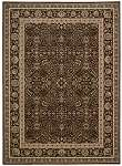 Kathy Ireland Antiquities KI11 ANT03 Espresso Area Rug by Nourison