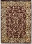 Kathy Ireland Antiquities KI11 ANT05 Burgundy Area Rug by Nourison
