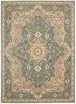 Kathy Ireland Antiquities KI11 ANT06 Slate Blue Area Rug by Nourison