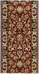Nourison Grand Parterre Kashan Elite PT01 Red 2'6