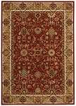 Kathy Ireland Lumierre KI602 Brick Area Rug by Nourison