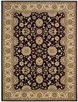 Persian Crown PC002 Black Area Rug by Nourison