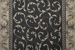 Nourison Somerset Scrollwork ST02 Charcoal 2'3