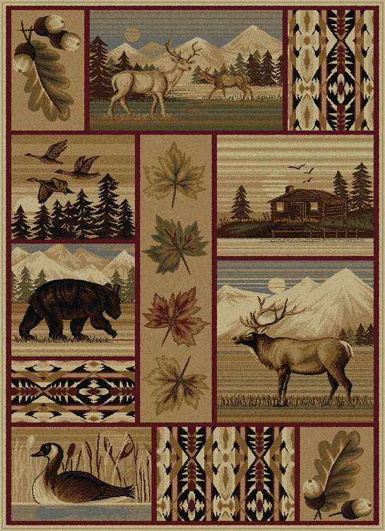 Americana 6650 Multi Area Rug Themed And Fun Rugs