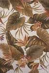 Colonial 1737 Ivory Tropical Paradise Area Rug by KAS