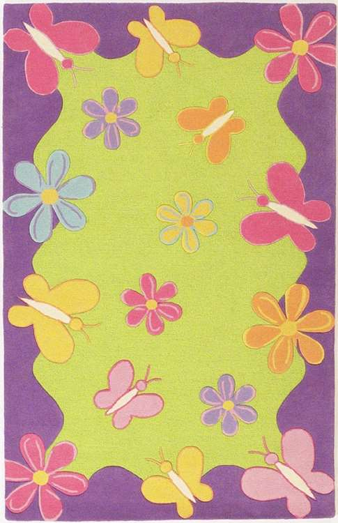 Kidding Around 421 Springtime Fun Area Rug by KAS