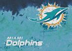 NFL Fade 02950 Miami Dolphins