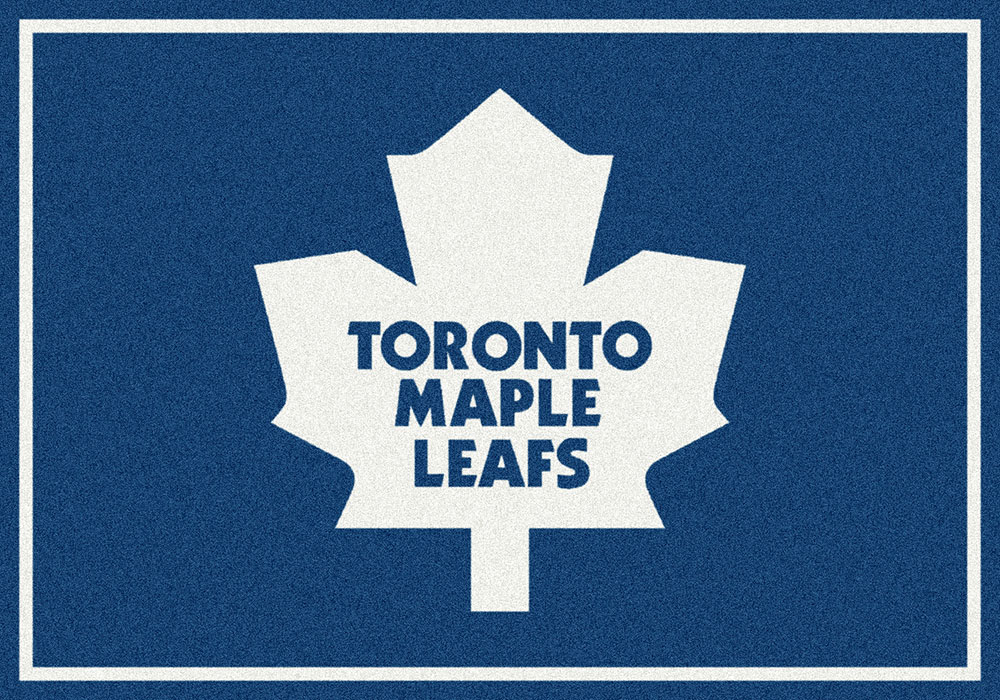 Milliken Nhl Spirit 02081 Toronto Maple Leafs Team Area Rug