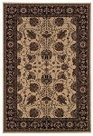 Ariana 431 I  Ivory/Black Area Rug by Oriental Weavers