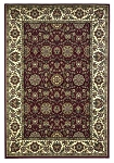 Cambridge Classic 7306 Red/Ivory Floral Agra Area Rug by KAS