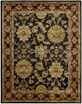 Jaipur JA18 Black Area Rug by Nourison