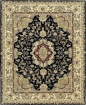 Nourison 2000 2028 Black Area Rug by Nourison