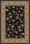 Ankara Classic 6223 Black Area Rug by Concord Global Trading