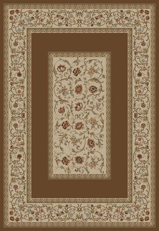 Ankara Classic 6238 Brown Area Rug by Concord Global Trading