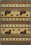United Weavers Designer Genesis - Marshfield Pine Creek Bear 533 11017 Area Rug