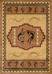 United Weavers Genesis Ancient Icon Natural 530 41217 Area Rug