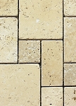 Roman Travertine Pattern White Floor Tile