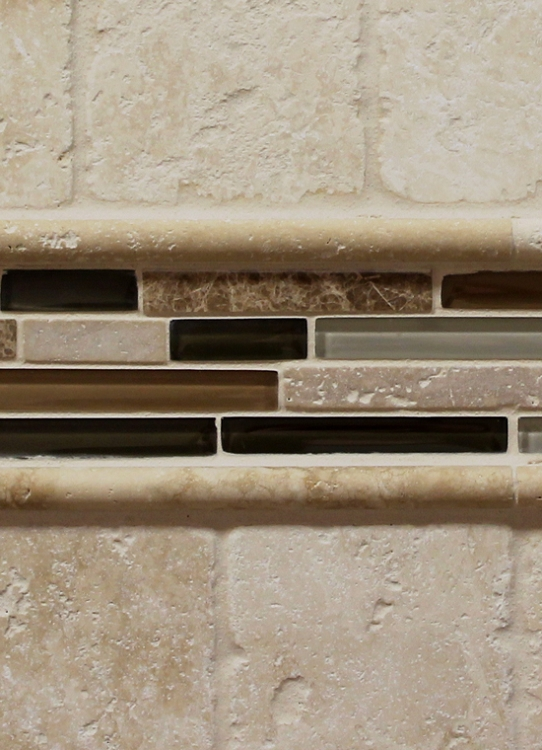 Mini Pencil Travertine Ivory 5 8 Quot X 12 Quot Tile Carpetmart Com