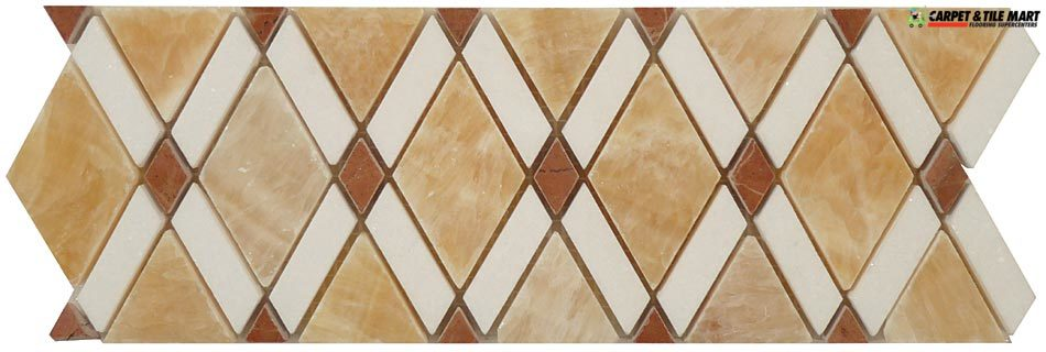 DVW341 Divine Window Jerusalem Mount Mosaic Tile