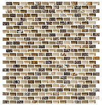 AMER391 Americana Apple Pie Mosaic Tile