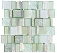 AS72 Academia Aviation Mint Mosaic Tile