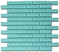 C082 Crystile Soft Mint Mosaic Tile