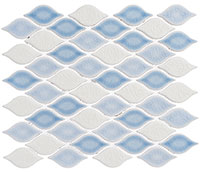 CLD493 Clouds Fog Mosaic Tile