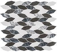 CLNL280 Colonial Presidential Grey Mosaic Tile