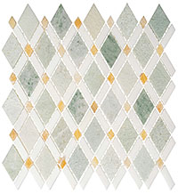 DS58 Diamond Mosaic Tile