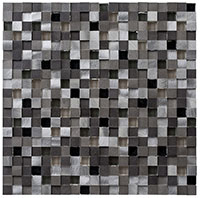 OS1003 Orbit Metallic Weather Mosaic Tile
