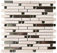 SPS1506 Symphony Peaceful Breeze Mosaic Tile