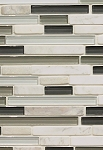 Iceland Glass Linear Decorative Tile 12