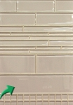 3 x 12 Mist Glass Elements Wall Tile