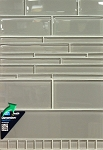 3 x 12 Smoke Glass Elements Wall Tile