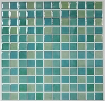 Self Stick Wall Tile- Blue Glass- 10.5