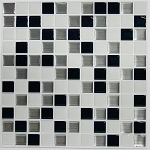 Self Stick Wall Tile- Black and White- 10.5