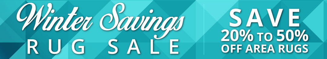 Winter Savings Area Rug Sale