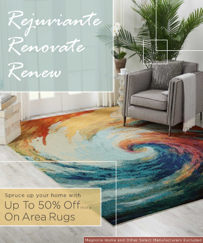 Renew Your Home Area Rug Sale