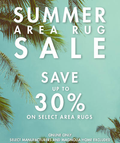 Summer Area Rug Sale