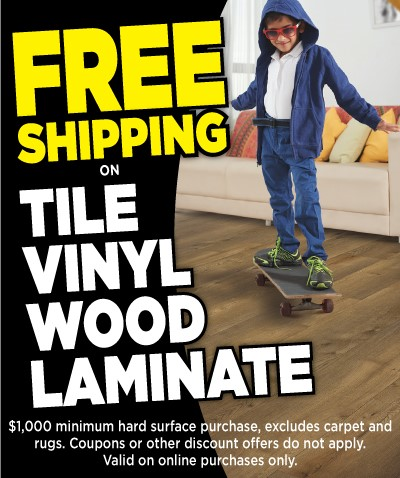 Free Shipping Tile Offer