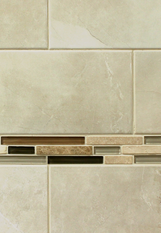 "Pulpis Ivory Ceramic Wall Tile 6"" x 12"""