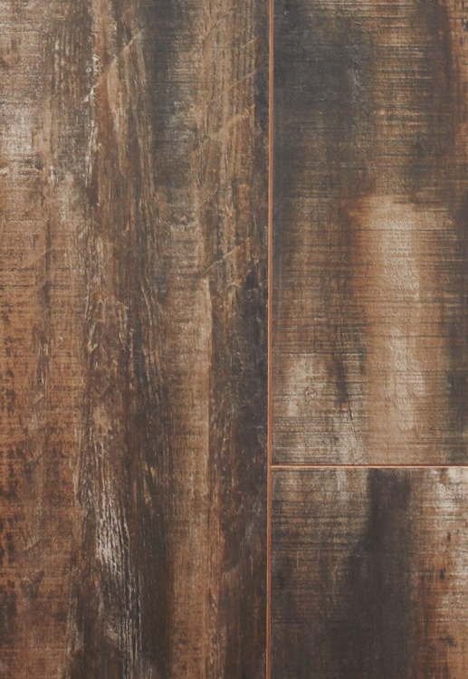 Treyburne Antique Charcoal 9 X 36 Porcelain Floor Tile