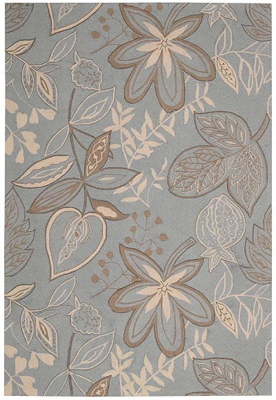 Fantasy  FA21 Lt.Blue Area Rug by Nourison