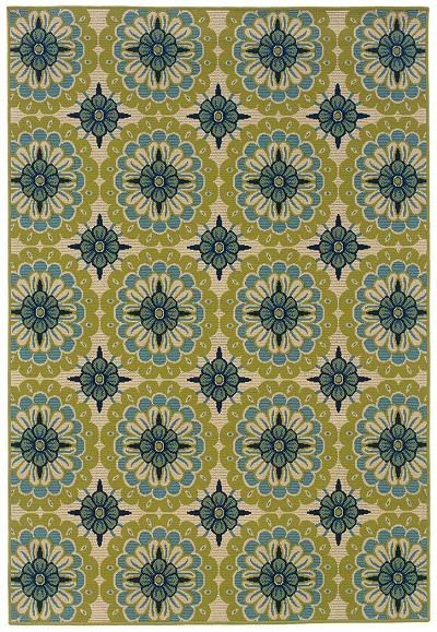 Caspian 8328 W  Indoor-Outdoor Area Rug by Oriental Weavers