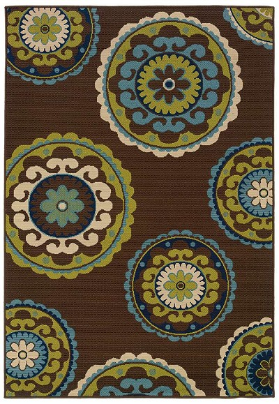 Caspian 859 D  Indoor-Outdoor Area Rug by Oriental Weavers