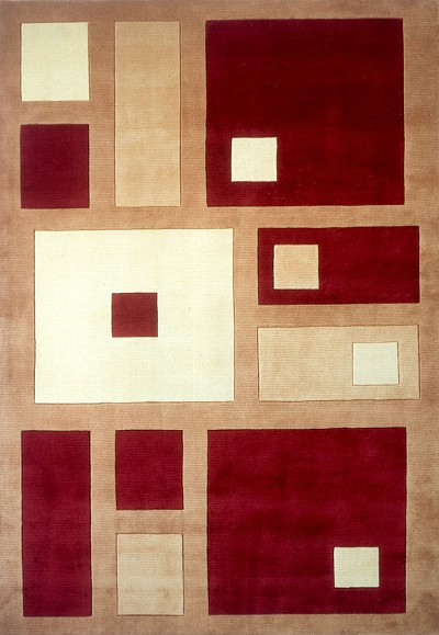 New Wave NW-50 Red Momeni Area Rug