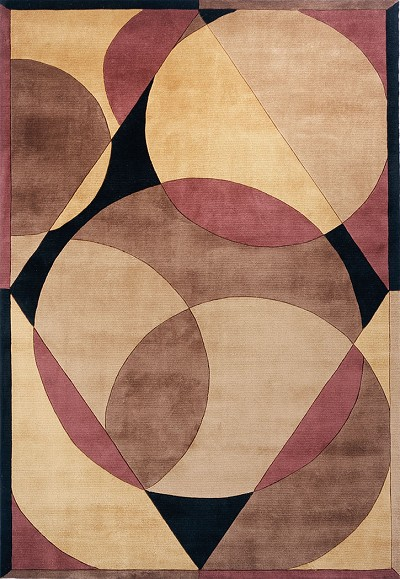 New Wave NW-78 Brown Momeni Area Rug
